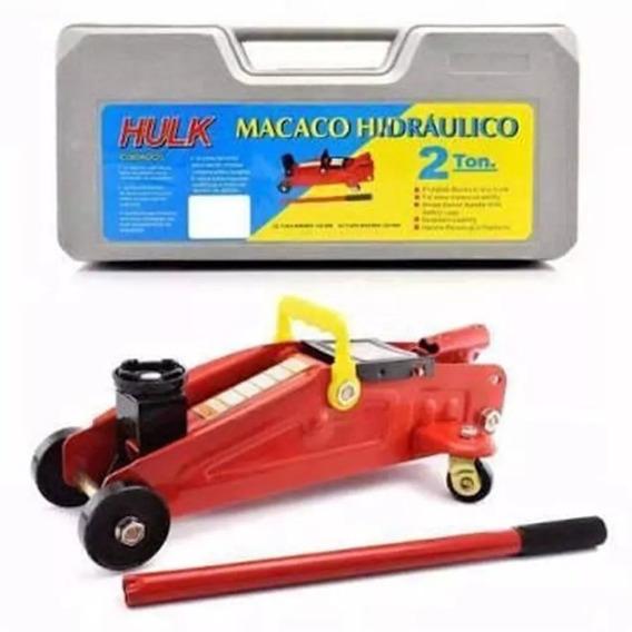 Mini Macaco Jacaré Hidraulico 2t C/ Maleta Jacarézinho Novo