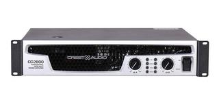 Amplificador Crest Cc-2800 Potencia Amplificador 2800w 101db