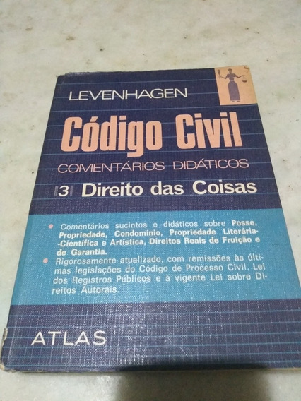 Código Civil Comentários Didáticos 3 Direito Das Coisas