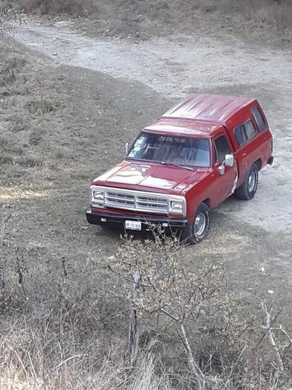 Dodge Ram 250, Año 1988, 8 Cilindros, Placas De Guerrero