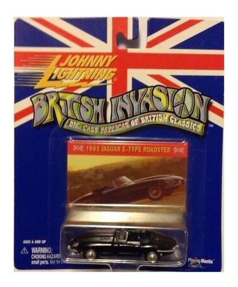 1963 Jaguar E Type Johnny Lightning Ruedas Goma Solo Envios