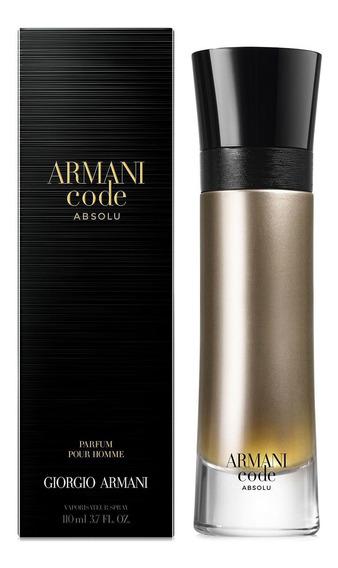 Perfume Armani Code Absolu Eau De Parfum 60ml Selo Adipec