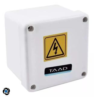 Caja Estanca Pase Plastica Pvc Balun Cctv Empalme 11x11x5cm