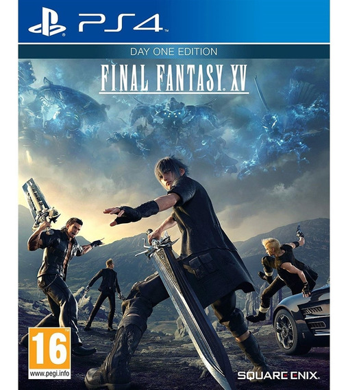 Final Fantasy Xv: Day One Edition Ps4 Mídia Física