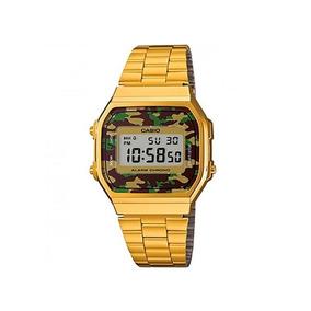 Relógio Casio Retro Vintage Dourado A168 Original