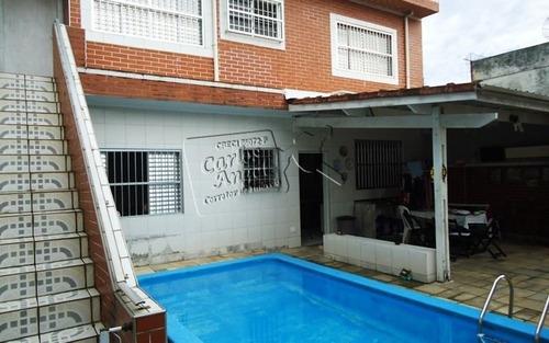 Casa A Venda No Bairro Vila Guilhermina Em Praia Grande - - 3019-1