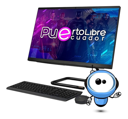 Potente Todo En Uno Lenovo Core I5 8gb 1tb + 256ssd + Touch