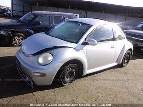 Vw Beetle 2002 Yonkeado Para Partes