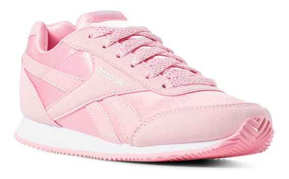 Tenis Reebok Royal Rosados Para Niña