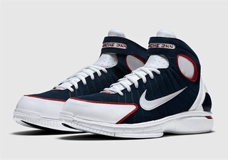 Nike Air Zoom Huarache 2k4 Olympics 308475-400 (zeronduty)
