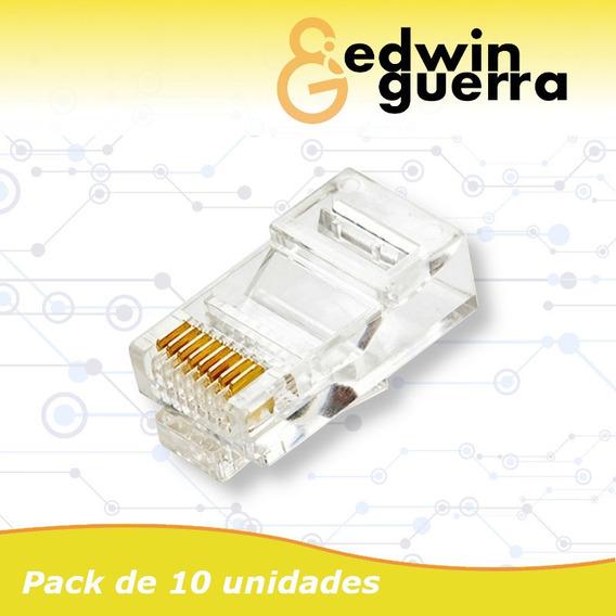 Conector Rj45 Internet - Camaras De Seguridad
