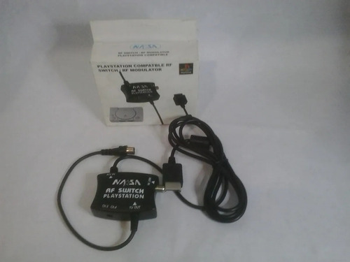 Cable Adaptador Playstation 1 Ps1 Ps2 A Conector Switch Rf