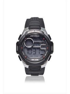 Reloj Pro Space Hombre Digital Psh0012-dir-1h8 Sumergible