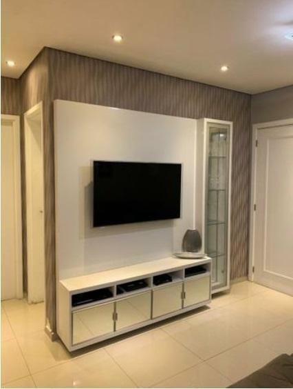 Apartamento Em Marapé, Santos/sp De 62m² 2 Quartos À Venda Por R$ 395.000,00 - Ap209756