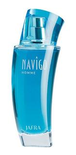 Jafra Navigo Homme Perfume Hombre Original Envio Gratis
