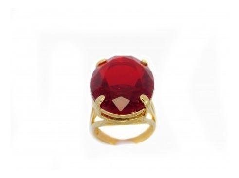 Anel De Pedra Vermelha