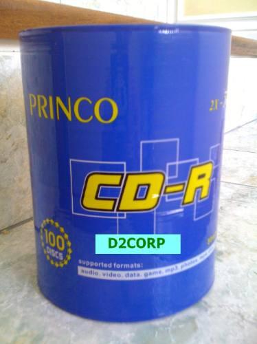 Cd's Princo Torres 50 Unidades Descuentos Al Por Mayor!!