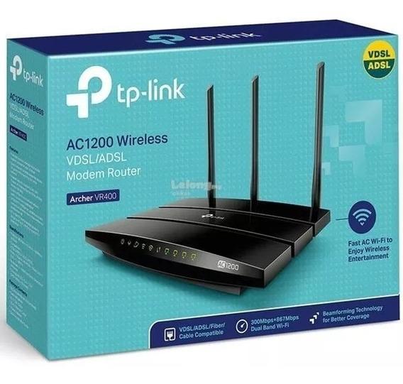 Modem Wifi Router Adsl Tp Link Archer Vr400