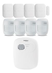 Kit Alarme Intelbras Residencial Casa Comercial Completo Ir