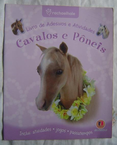 Cavalos E Pôneis Livro De Adesivos E Atividades.