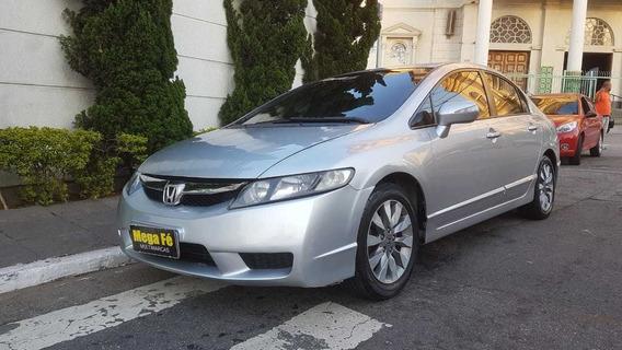 Honda Civic New Lxl 1.8 16v I-vtec Prata Completo 2011