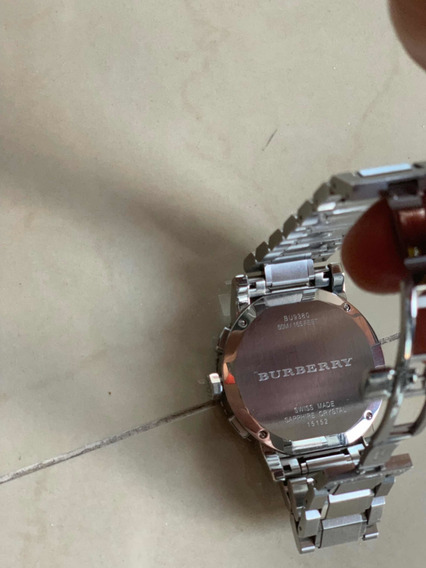 Reloj Original Suizo Burberry + Styluscross