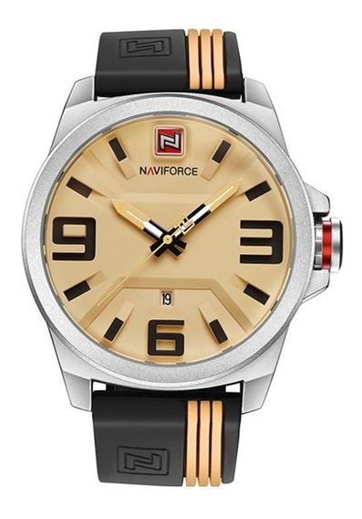 Reloj Hombre Deportivo Naviforce Fechador