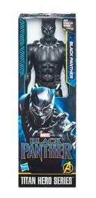 E0869 Boneco Pantera Negra Fig 12p Titan Power Fx Original