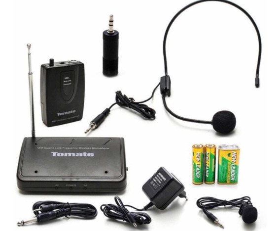 Kit Microfone Lapela Com Sem Fio