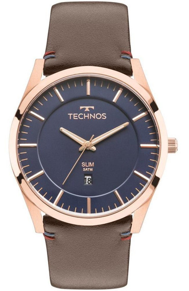 Relógio Technos Masculino Slim Rosé - Gm10yh/2a