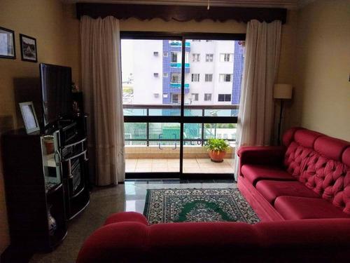 Apartamento À Venda, 135 M² Por R$ 1.060.000,00 - Ipiranga - São Paulo/sp - Ap11778