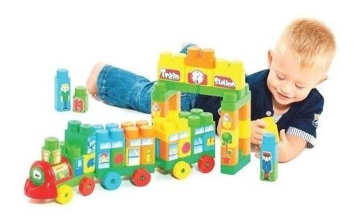 Brinquedo D Montar Infantil Educativo Didatico - Tipo Lego