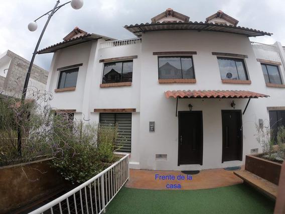 Arriendo Hermosa Casa De 3 Pisos Conjunto Privado 0984503763