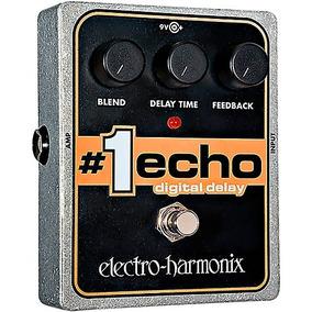 Pedal Electro Harmonix #1 Echo Digital Delay C/ Nf-e Garant.