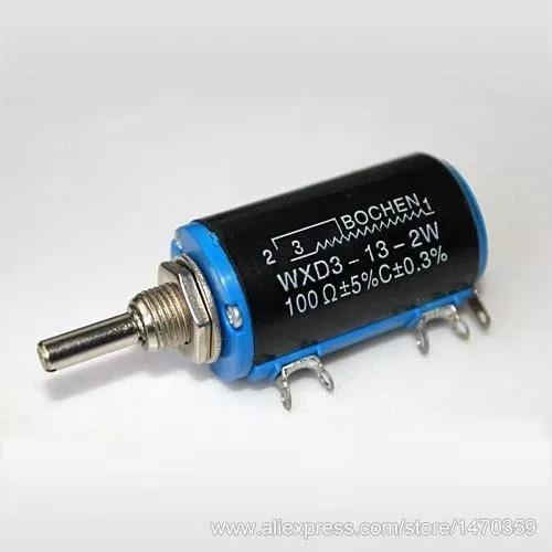 Potenciometro Mulitvoltas Precisão 4k7 Wxd3-13-2w 2 Unidades