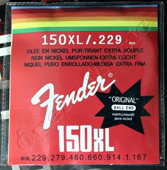 Encordoamento Fender P/ Guitarra 150xl/009 (frete Grátis)
