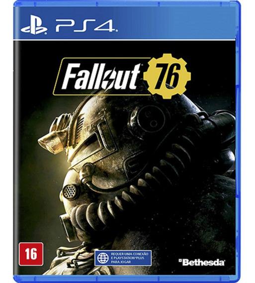 Fallout 76 Playstation 4 Ps4 Midia Fisica Original Português