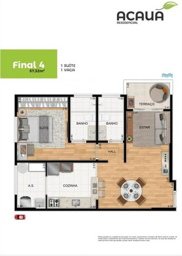 Imagem 1 de 9 de Apartamento - Venda - Campo Da Aviação - Praia Grande - Ter74