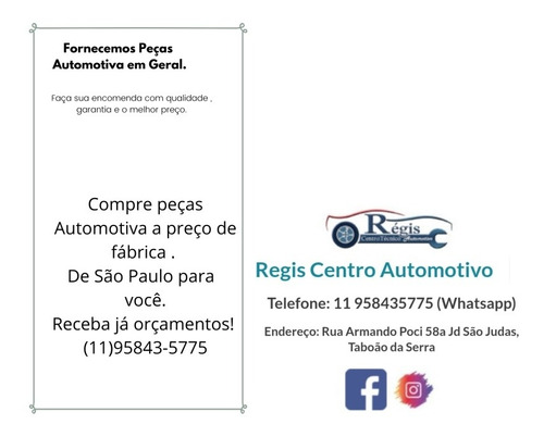 Imagem 1 de 2 de Compre Peças Automotivas  São Paulo Para Você (11)95843-5775