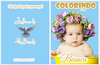 100 Un. Kitcolorir Personalizado+giz De Cera