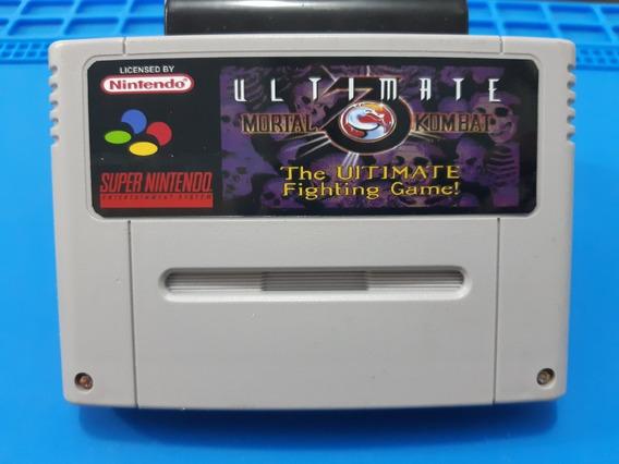 Fitas De Super Nintendo Mortal Ultimat 3