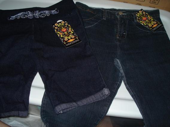 Set D 3: Pzas Pescador Short Y Pantalon Dama T 14-16 Juvenil