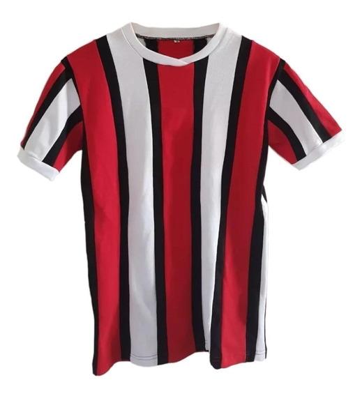 Camiseta River Tricolor Alonso Francescoli Retro