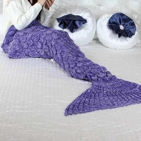 Nova Cobertor Cauda De Sereia