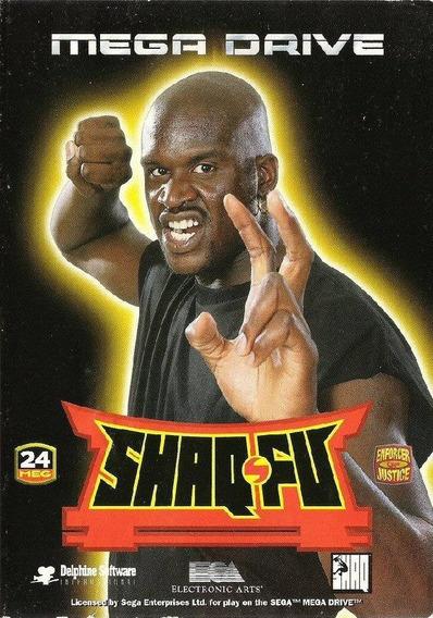 Shaq Fu Para Mega Drive Original Lacrado