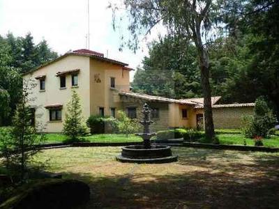 Rancho Hacienda En Venta, Zinacantepec, Estado De México