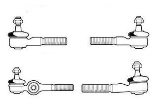 Kit Terminais De Direção Vw Fusca 1200/1300 C/ Embuchamento