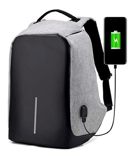 Mochila Antirrobo Con Puerto Usb Laptop Tablet