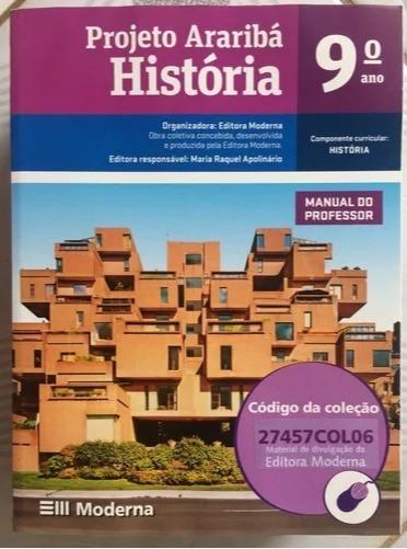 Livros De História 8º E 9º Ano Projeto Araribá