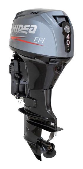 Hidea 40hp Efi-4t Entrada R$10.000+12 X R$1.416,60 Encomenda